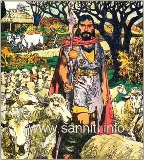 Samnite warrior-shepherd