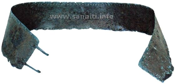 Metal belt from Castel Baronia (AV)