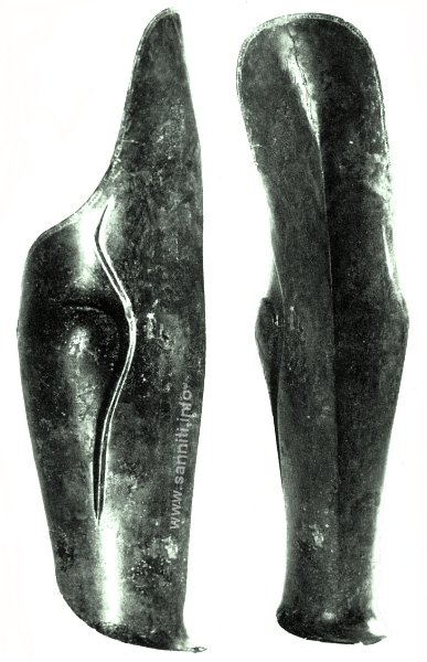 Greave from Campovalano
