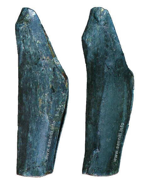 Greaves from Pietrabbondante